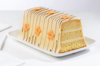 Marsepein crème cake