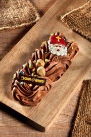 Kleine chocoladestaaf