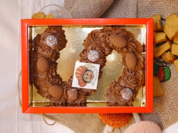 Grote chocoladeletter